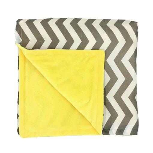 80 75cm Baby Bedding Blankets Kids Sleeping Blanket Soft Striped Blanket Infant Swaddle Nap Receiving Stroller 2
