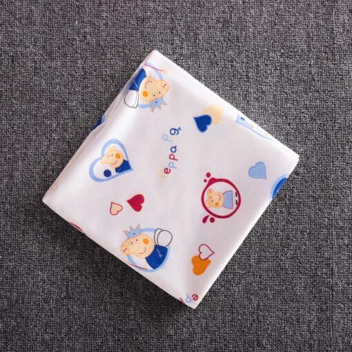 85 85 Muslin Bamboo Cotton Baby Blanket Swaddle Soft Cartoon Animal Print scarf Multifunction Wrap Burp 4