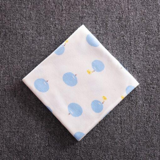 85 85 Muslin Bamboo Cotton Baby Blanket Swaddle Soft Cartoon Animal Print scarf Multifunction Wrap Burp 5