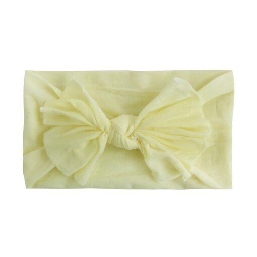 8pcs Baby Headbands Flower For Girls Handmade Chiffon Solid Hair Bow Band Baby Hairband Headdress Newborn 2