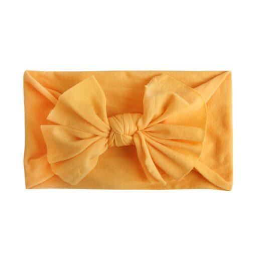 8pcs Baby Headbands Flower For Girls Handmade Chiffon Solid Hair Bow Band Baby Hairband Headdress Newborn 3