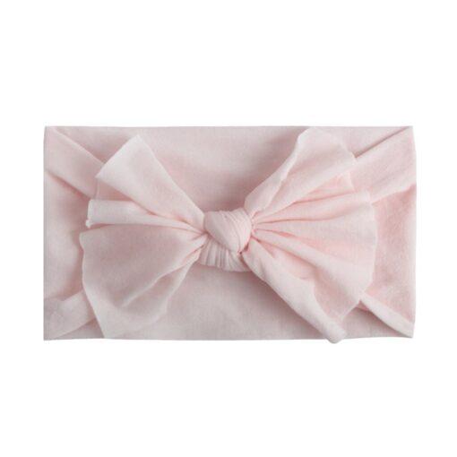 8pcs Baby Headbands Flower For Girls Handmade Chiffon Solid Hair Bow Band Baby Hairband Headdress Newborn 4