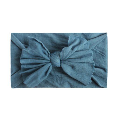 8pcs Baby Headbands Flower For Girls Handmade Chiffon Solid Hair Bow Band Baby Hairband Headdress Newborn 5