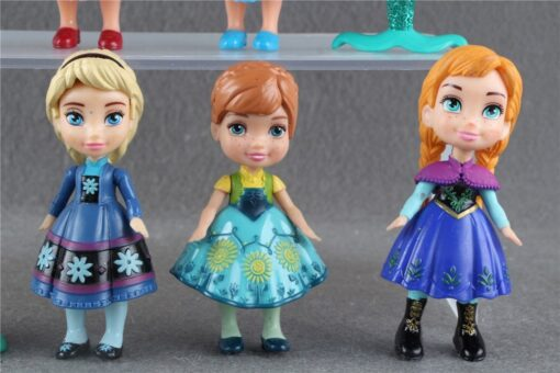 90 New Original 3 Princess Mini Toddler Doll Collection Figure 2
