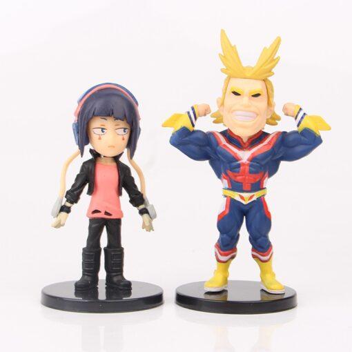 9pcs Set Anime My Hero Academia Figure Izuku Midoriya Shouto Todorok URARAKA Bakugou Katsuk Hero Academ 2