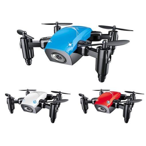 AEOFUN S9HW Mini Drone with HD Camera S9 No Folding Camera RC Quadcopter altitude helicopter WiFi 1