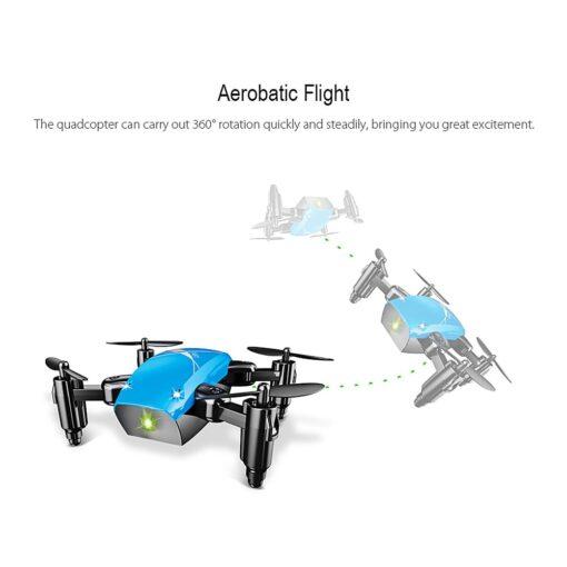 AEOFUN S9HW Mini Drone with HD Camera S9 No Folding Camera RC Quadcopter altitude helicopter WiFi 4