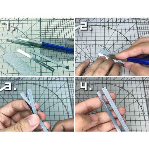 AJ0068 Model 9in1 Detail Grinding Stick File Model Building Tools for Gundam 1 144 Scale Handheld 2