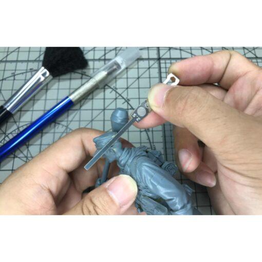 AJ0068 Model 9in1 Detail Grinding Stick File Model Building Tools for Gundam 1 144 Scale Handheld 4