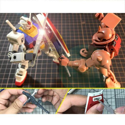 AJ0068 Model 9in1 Detail Grinding Stick File Model Building Tools for Gundam 1 144 Scale Handheld 5