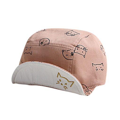 ARLONEET Cap 1pc Fashion Blue Pink Children Summer Soft Hat 45cm Elegant design Cotton baby Kids 1
