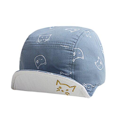 ARLONEET Cap 1pc Fashion Blue Pink Children Summer Soft Hat 45cm Elegant design Cotton baby Kids 2