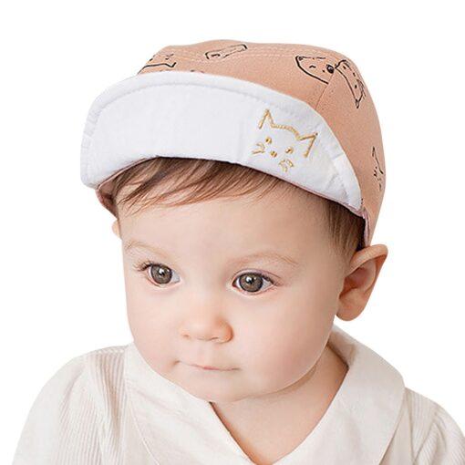 ARLONEET Cap 1pc Fashion Blue Pink Children Summer Soft Hat 45cm Elegant design Cotton baby Kids 3