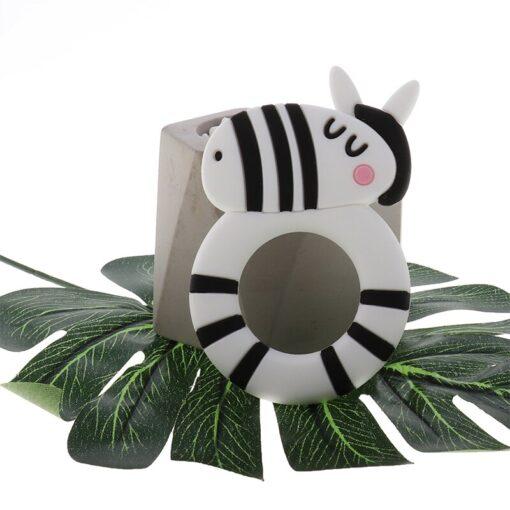 ATOB 1Pc silicone teether unicorn silicon Food Grade Baby Teething Toys bpa free bear safe baby 4