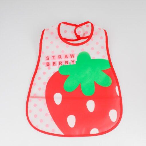 Adjustable Baby Bibs EVA Waterproof Lunch Feeding Bibs Baby Cartoon Feeding Cloth Children Baby Apron Babador 1