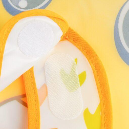 Adjustable Baby Bibs EVA Waterproof Lunch Feeding Bibs Baby Cartoon Feeding Cloth Children Baby Apron Babador 5
