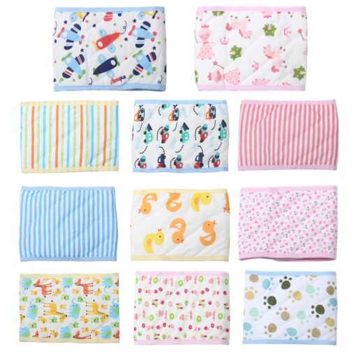 Adjustable Newborn Baby Bellyband Infant Cotton Belly Button Protector Band Kids Soft Navel Guard Girth Belt 1