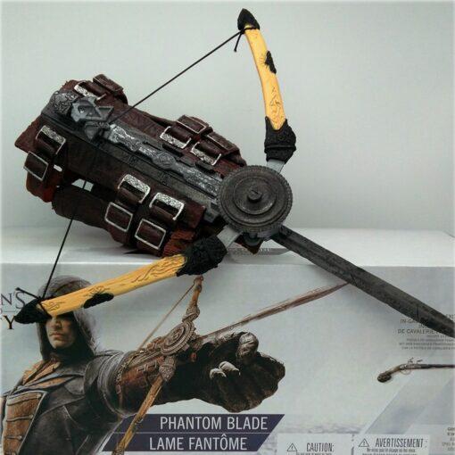 Adult Cosplay Assassin s Creed Dark Sword Action Figure Dark Sword Edward Weapon Sleeve Sword Can 1