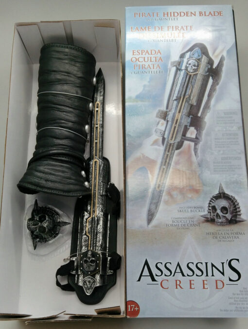 Adult Cosplay Assassin s Creed Dark Sword Action Figure Dark Sword Edward Weapon Sleeve Sword Can 4