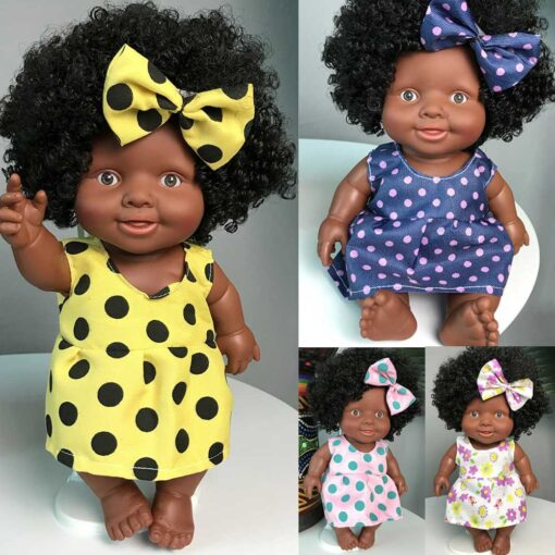 African Doll Movable Joint Toy Christmas Best Gift For Baby Girls Black Toy Mini Cute Explosive 1