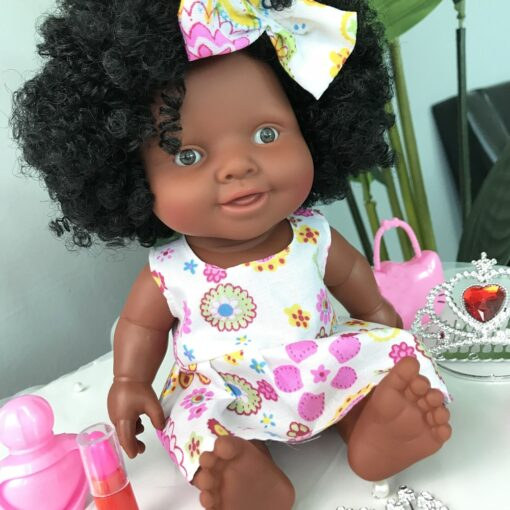 African Doll Movable Joint Toy Christmas Best Gift For Baby Girls Black Toy Mini Cute Explosive 2