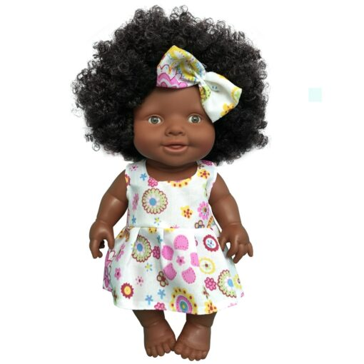 African Doll Movable Joint Toy Christmas Best Gift For Baby Girls Black Toy Mini Cute Explosive 3