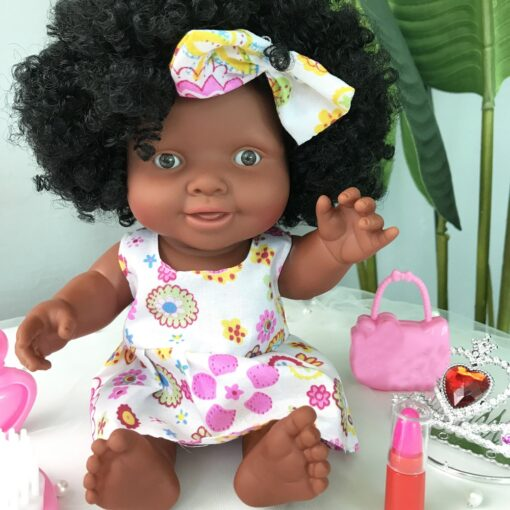 African Doll Movable Joint Toy Christmas Best Gift For Baby Girls Black Toy Mini Cute Explosive 4