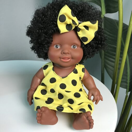 African Doll Movable Joint Toy Christmas Best Gift For Baby Girls Black Toy Mini Cute Explosive 5