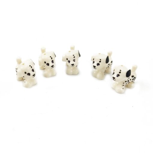 Animals MOC Cute Dogs Cat Wolf Tiger Figures Models Building Blocks Toys for Children Assemble Animals 2