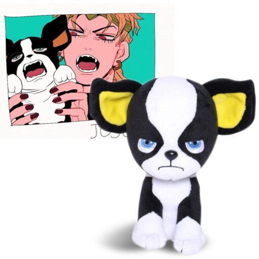 Anime JOJO BIZARRE ADVENTURE Dog IGGY Plush Toy Stuffed Doll Cute Mascot Cosplay Prop Collection Dolls