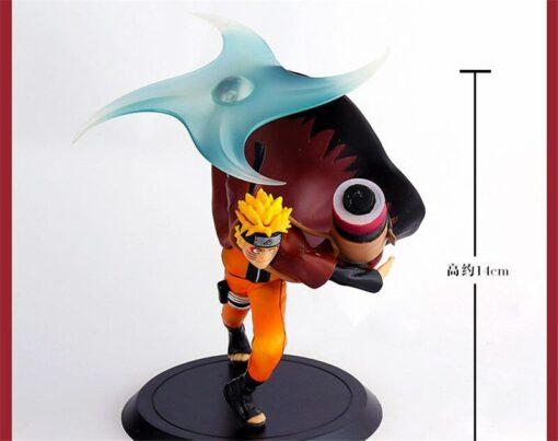 Anime Naruto Uzumaki PVC 2nd Uzumaki Naruto Big Action Figure Collectible Model Toy Doll Figurine Children 3