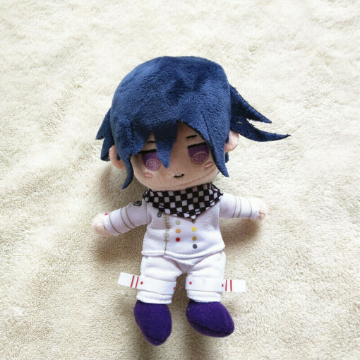 Anime Plush Doll Keyring Danganronpa V3 Dangan Ronpa Oma Kokichi Komaeda Nagito Cosplay DIY Handmade Material 2