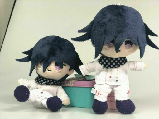 Anime Plush Doll Keyring Danganronpa V3 Dangan Ronpa Oma Kokichi Komaeda Nagito Cosplay DIY Handmade Material