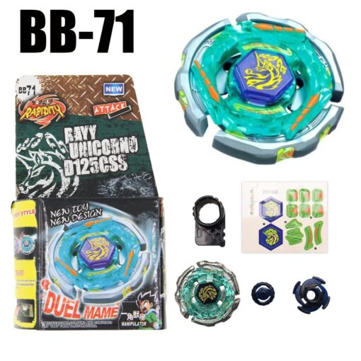 B70 Bayblade Spinning Top Galaxy Pegasus Pegasis W105R2F STARTER SET B 70 4D Spinning Top Drop 1