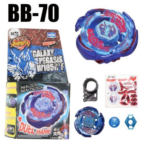 B70 Bayblade Spinning Top Galaxy Pegasus Pegasis W105R2F STARTER SET B 70 4D Spinning Top Drop