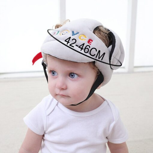 Baby Anti Fall Head Protection Cap Baby Toddler Anti Collision Hat Shatter Resistant Hat Child Safety 2