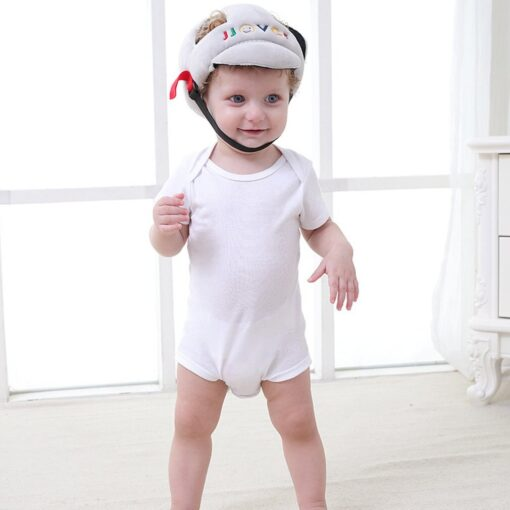 Baby Anti Fall Head Protection Cap Baby Toddler Anti Collision Hat Shatter Resistant Hat Child Safety 5