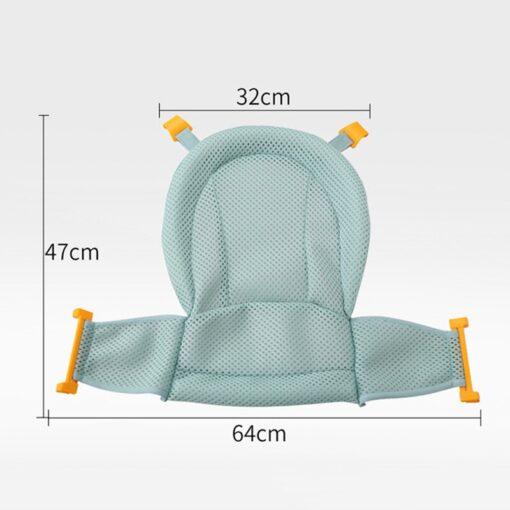 Baby Bath Mesh Seat Support Hammock Bathing Bathtub Infant Care Shower Adjustable Sling Net YH 17 1