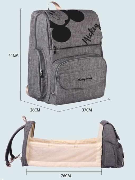 Baby Bed Bag Diaper Bag Bed Waterproof Stroller Diaper Backpack For Mommy Maternity Nappy Bag Backpack 1