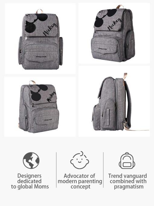 Baby Bed Bag Diaper Bag Bed Waterproof Stroller Diaper Backpack For Mommy Maternity Nappy Bag Backpack 3