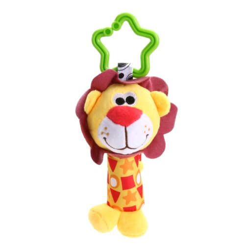 Baby Bed Wind Stroller Hanging Rattles Safety Stuffed Animal Baby Pram Rattle Toys for 0 12M 3