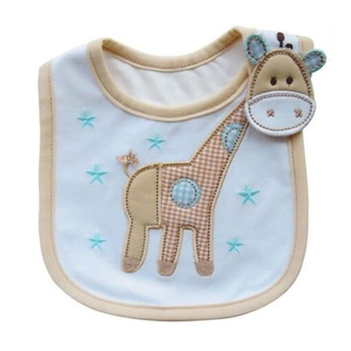 Baby Bib Baby Stuff Baby Infants Kids Bibs Baby Lunch Bibs Cute Towel 3 Layer Waterproof 1