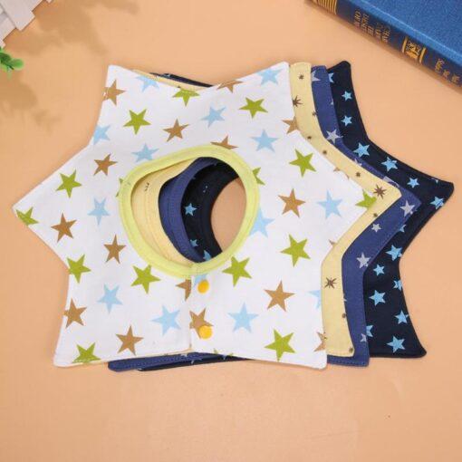 Baby Bib Towels 4 Layer 360 Rotate Baby Girl Boy Wear Fashion Accessories Baby Bib Towels 1