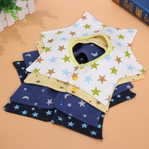Baby Bib Towels 4 Layer 360 Rotate Baby Girl Boy Wear Fashion Accessories Baby Bib Towels 2