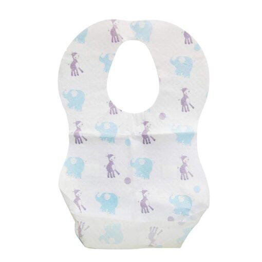 Baby Bibs Boy Girl Bandana Burp Paper Print Cotton Baby Scarf Meal Collar Burp baby accessories 1