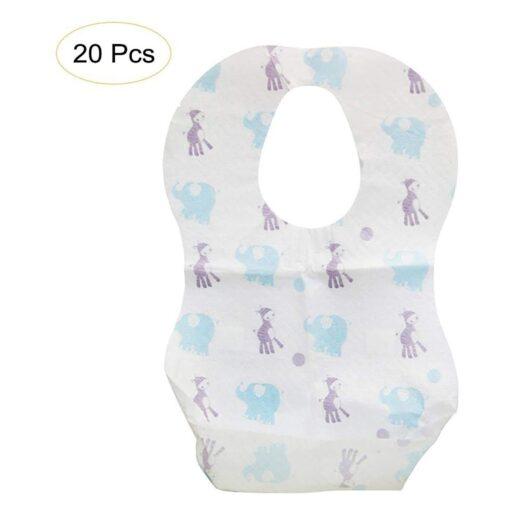Baby Bibs Boy Girl Bandana Burp Paper Print Cotton Baby Scarf Meal Collar Burp baby accessories 3