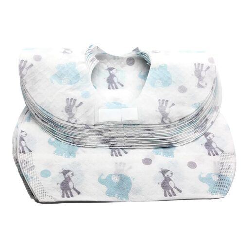 Baby Bibs Boy Girl Bandana Burp Paper Print Cotton Baby Scarf Meal Collar Burp baby accessories 5