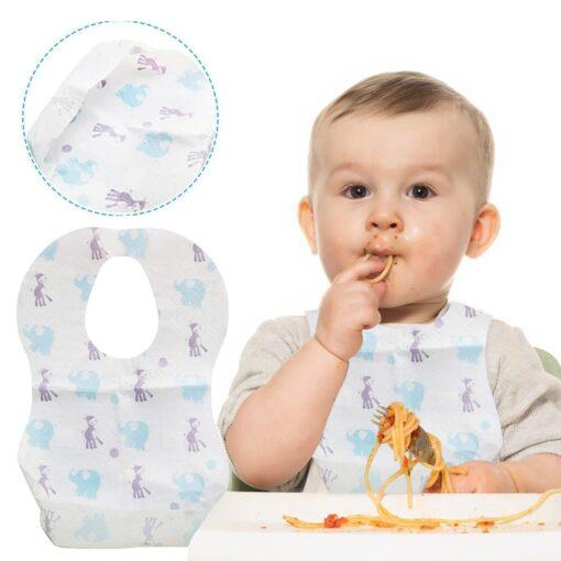 Baby Bibs Boy Girl Bandana Burp Paper Print Cotton Baby Scarf Meal Collar Burp baby accessories