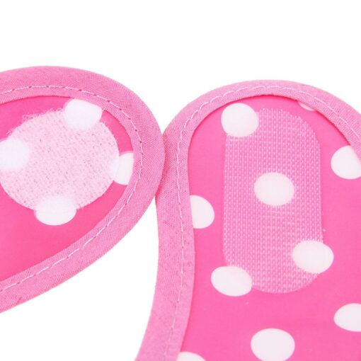 Baby Bibs Burp Cloth Stereoscopic Pinafore EVA Waterproof Overclothes Cartoon Lunch Bibs Feeding Bandanas Infant Saliva 11