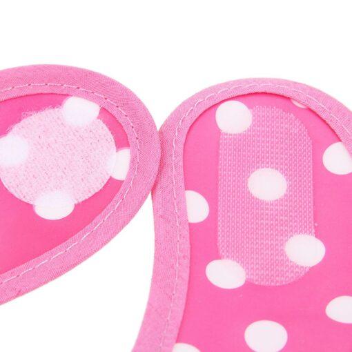 Baby Bibs Burp Cloth Stereoscopic Pinafore EVA Waterproof Overclothes Cartoon Lunch Bibs Feeding Bandanas Infant Saliva 5